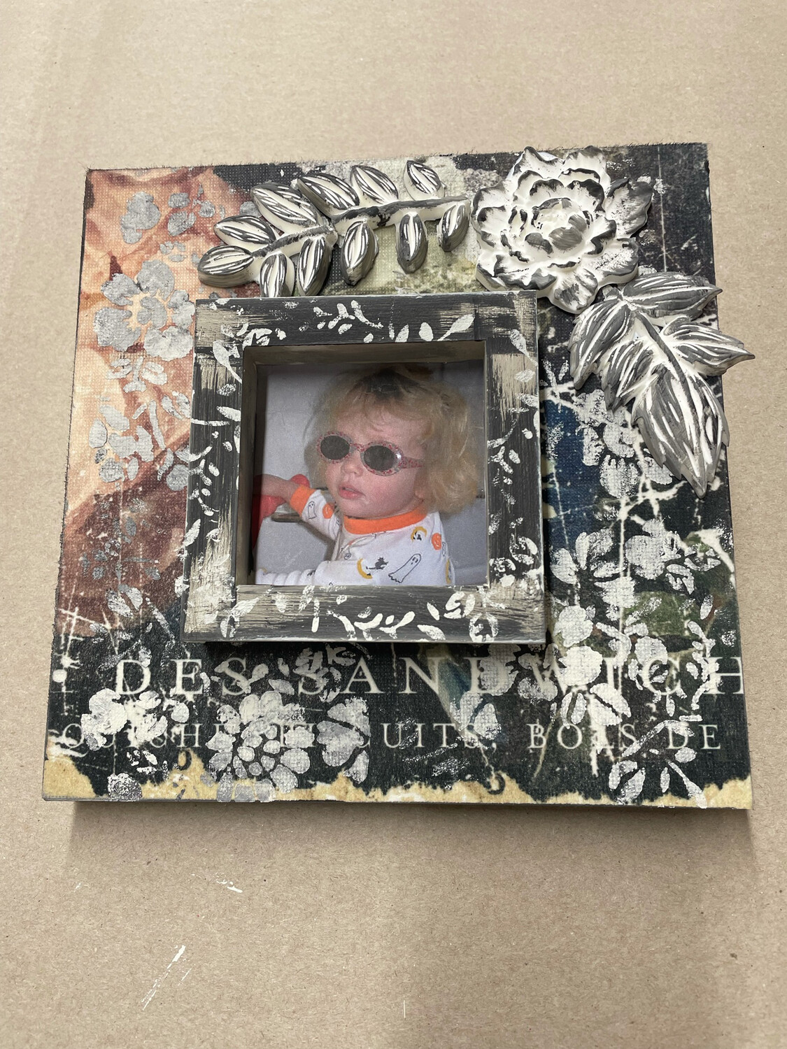 Multi Media Picture Frame July 29th 6-8pm