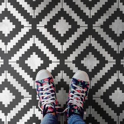 Kilim Wall and Floor Stencil