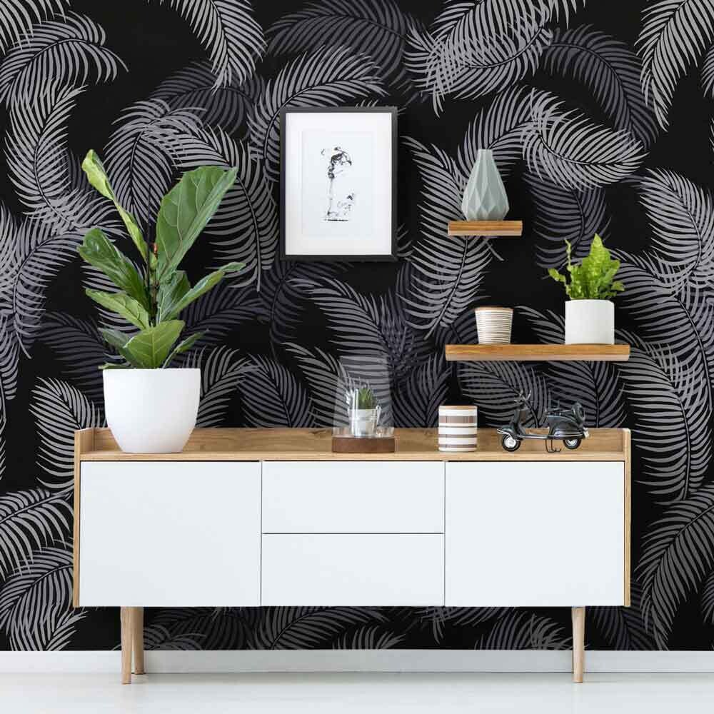 Palm Frond Wall Art Stencil