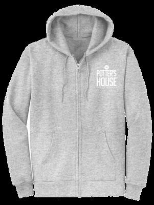 TPHND 10th Anniversary Hoodie – Gray