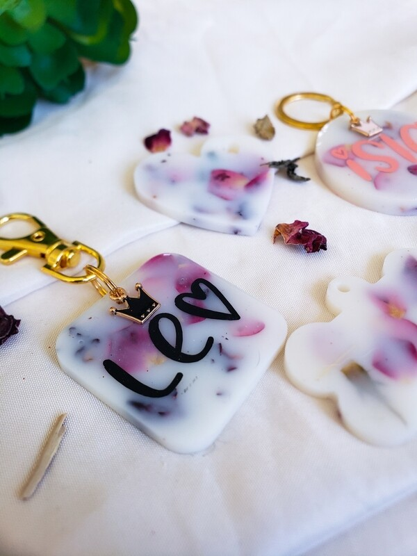 Roses & Cream Collection Pet Tags