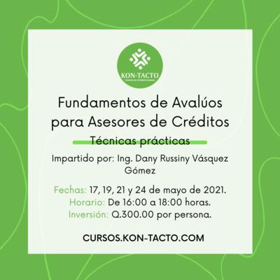 Fundamentos de Avalúos para Asesores de Créditos