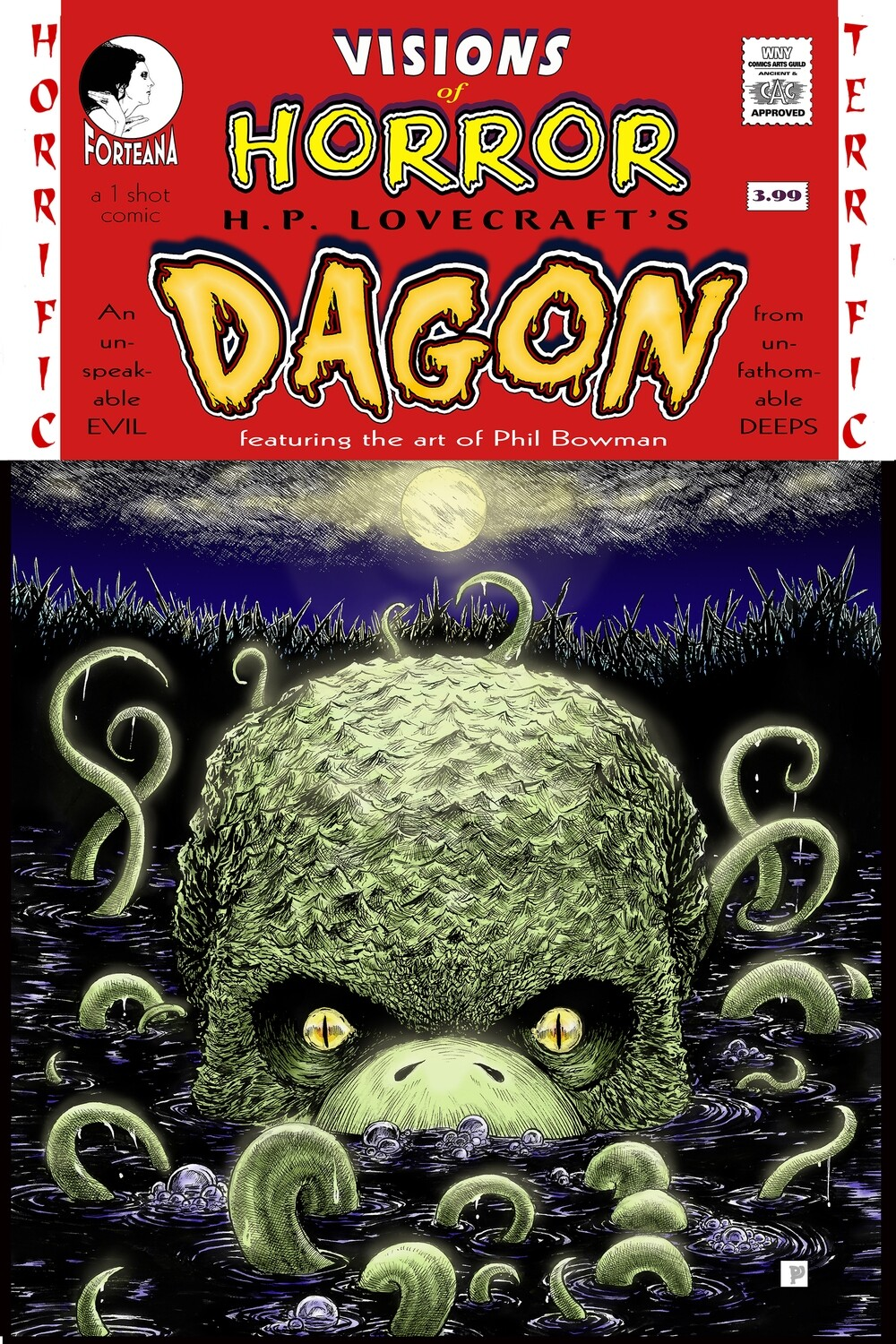"Visions of Horror: H.P. Lovecraft's ""Dagon"""