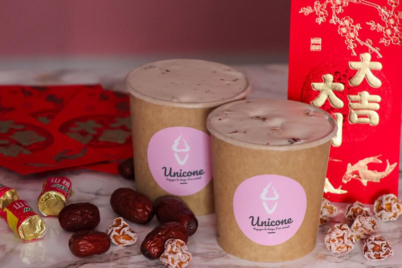 Crème Glacée Spécial Nouvel An Chinois- 500ml