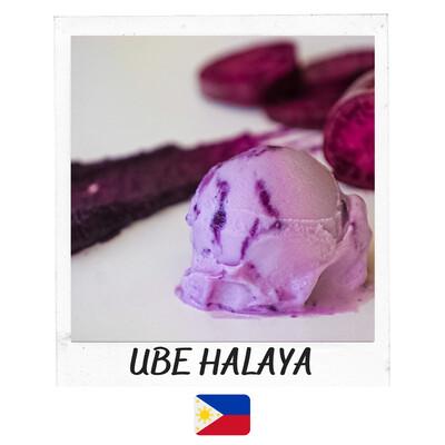 Crème Glacée Ube Halaya- 500ml