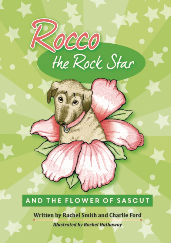 Rocco the Rock Star and the Flower of Sascut, the second book in the series.
