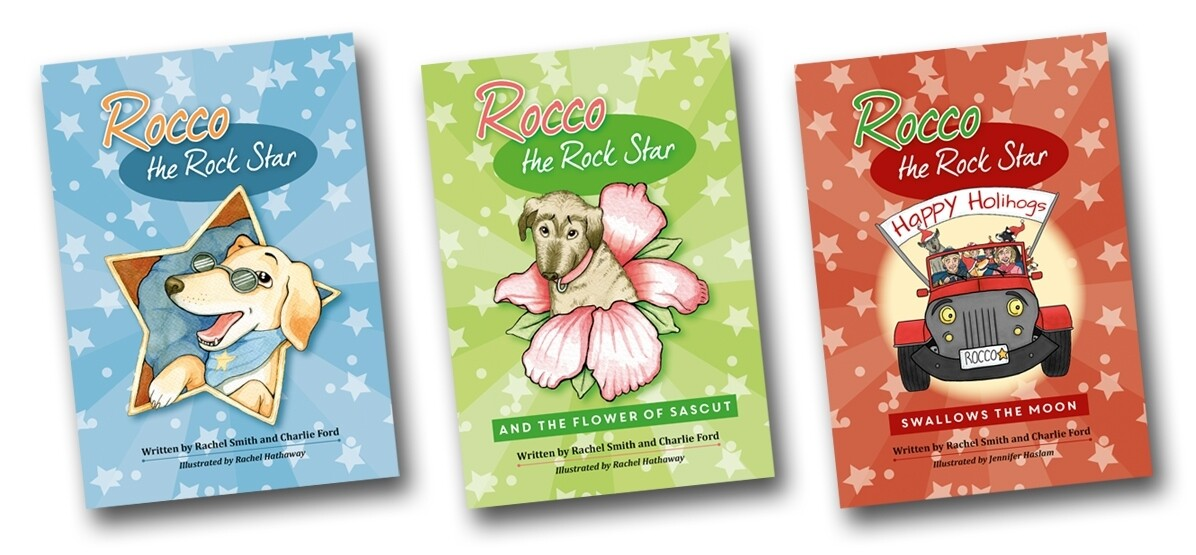 ROCCO THE ROCK STAR - THREE BOOKS SPECIAL OFFER  £24.00
