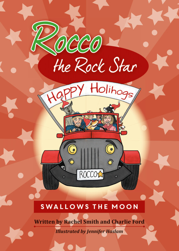 SWALLOWS THE MOON - CHILDREN'S BOOK - ROCCO