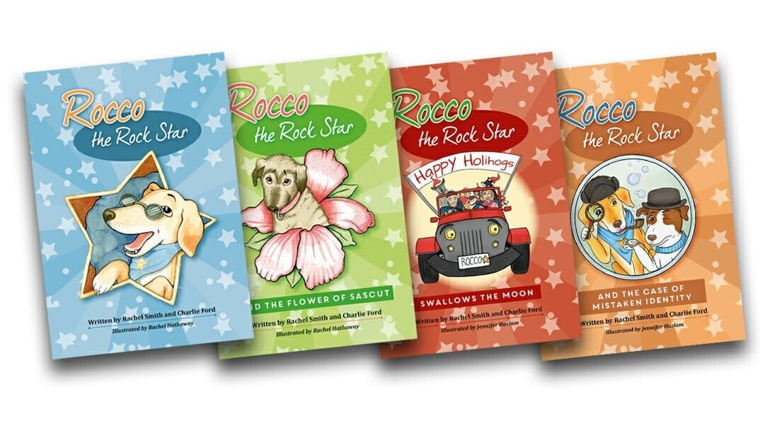 ROCCO THE ROCK STAR - FOUR BOOKS SPECIAL OFFER  £25.00