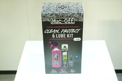 Kit Muc-Off Clean, Protect and Lube