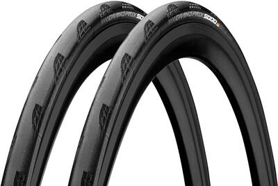 Kit de pneus Continental GP5000 700x25 + deux chambres