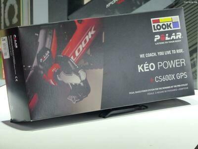 Pédale Kéo Look Power CS600x