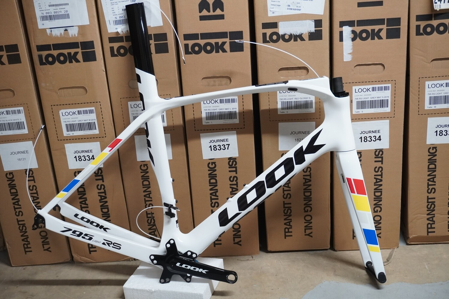 Kit cadre Look 795 Light RS Proteam White Glossy
