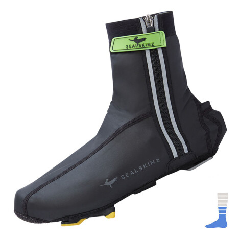 Sealskinz - SS Neoprene Halo Covershoes LED