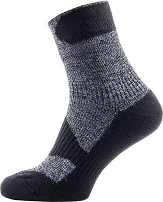 Sealskinz - Chaussette SS Thin Socklet  Gris Noir