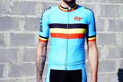 Maillot GJ Team Belgium Luxury