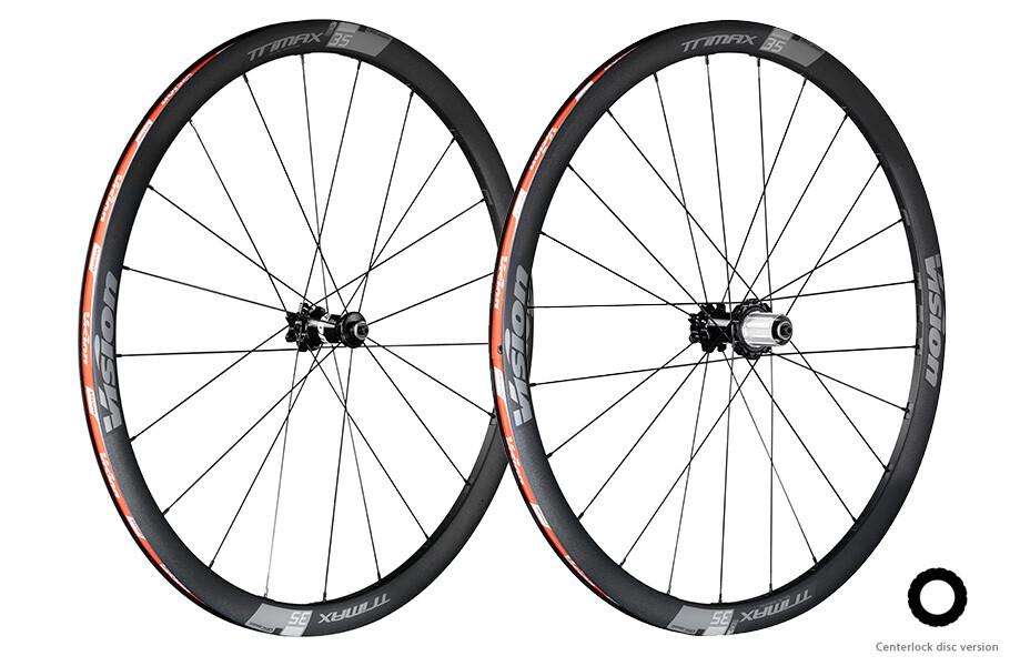 Vision Trimax 35 disc pneus