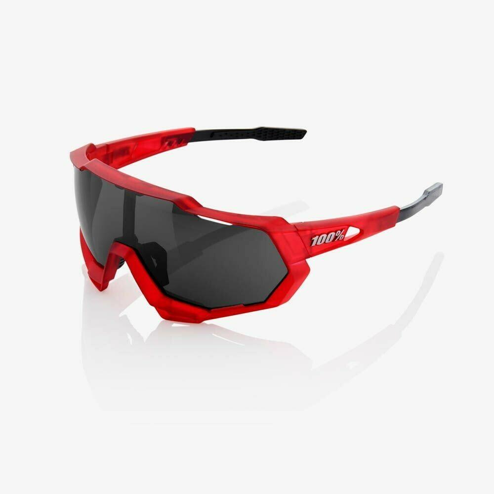 100% Speedtrap Mirror Matte Red