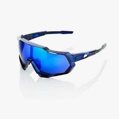 100% Speedtrap Mirror Electric Blue