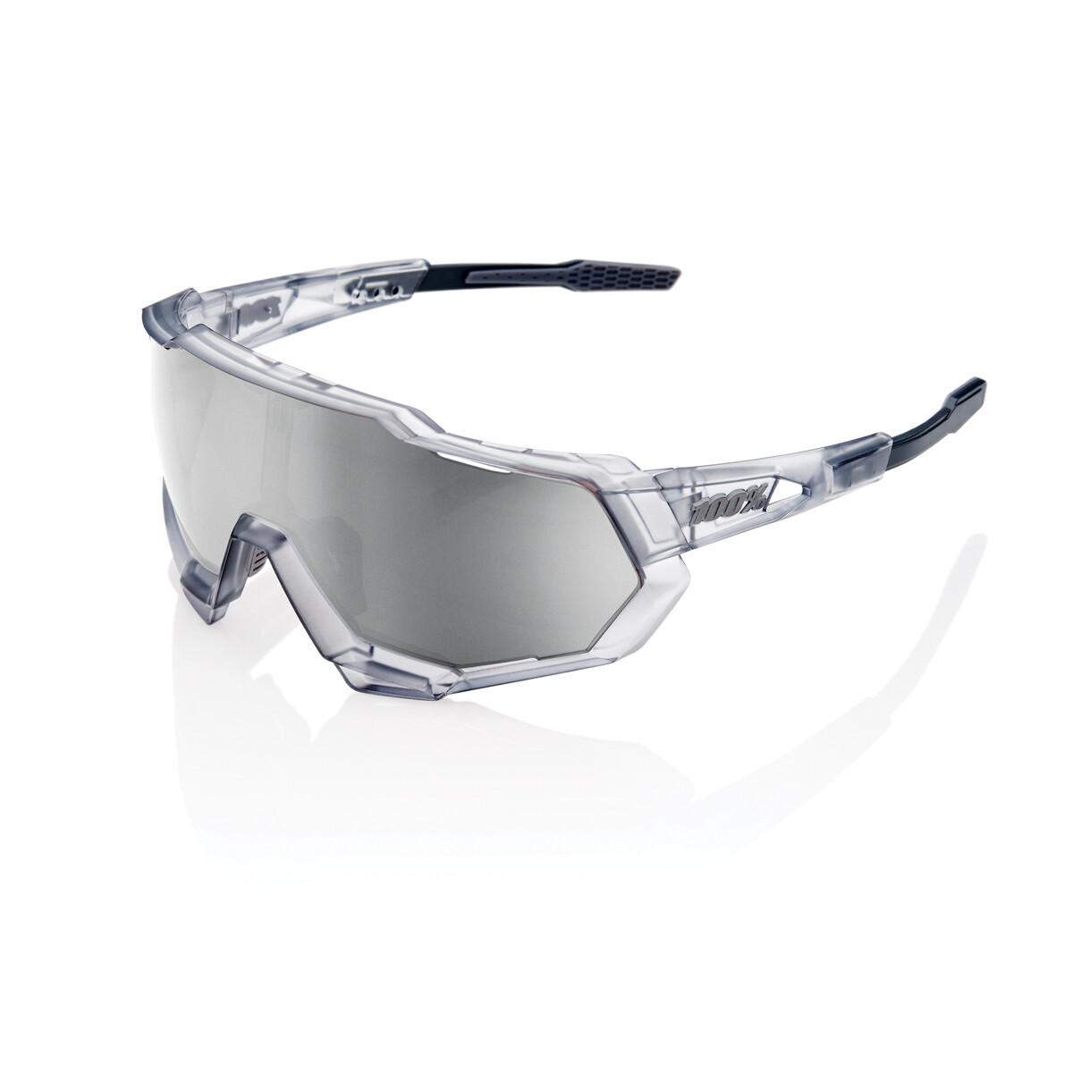 100% Speedtrap Hiper Matte Translucent Crystal Grey
