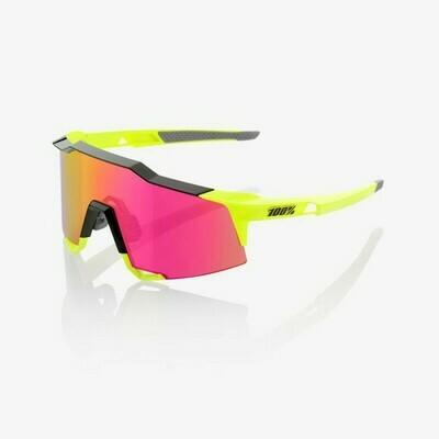100% Speedcraft Mirror Fluo Yellow Purple Multilayer