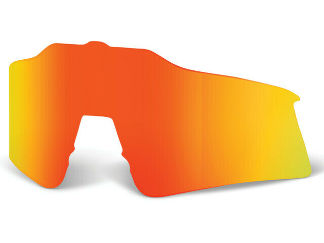 Verre 100% Speedcraft Hiper Orange Multilayer Replacement Lens