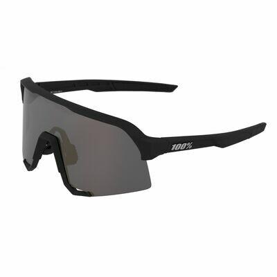 100% S3 Mirror Soft Tact Black
