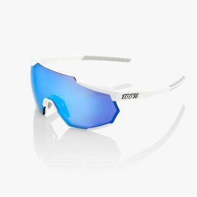 100% Racetrap Hiper White Blue