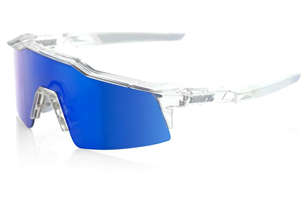 100% Speedcraft SL Mirror Aurora Ice Blue