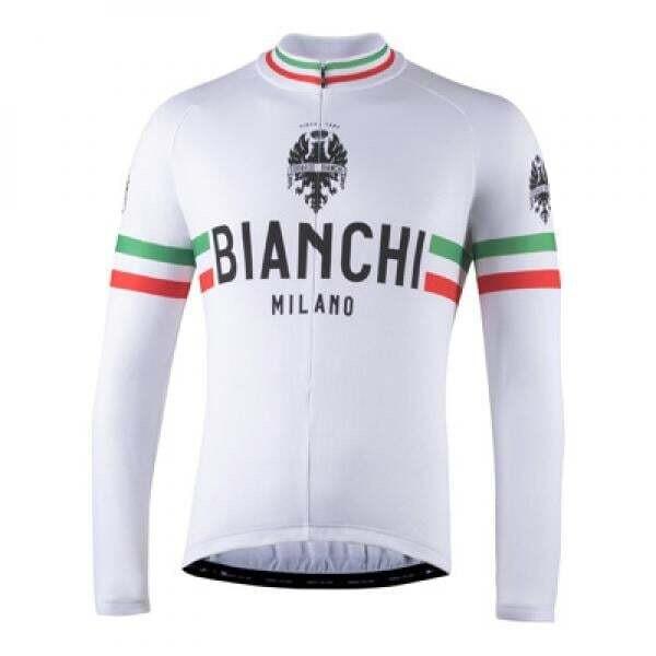 Maillot BIANCHI MILANO STORIA Manches Longues
