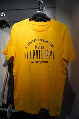 T-Shirt The Vandal '' ALAPHILIPPE CYCLING CLUB '' JAUNE