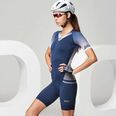 Maillot Dotout Star dame - shades of blue