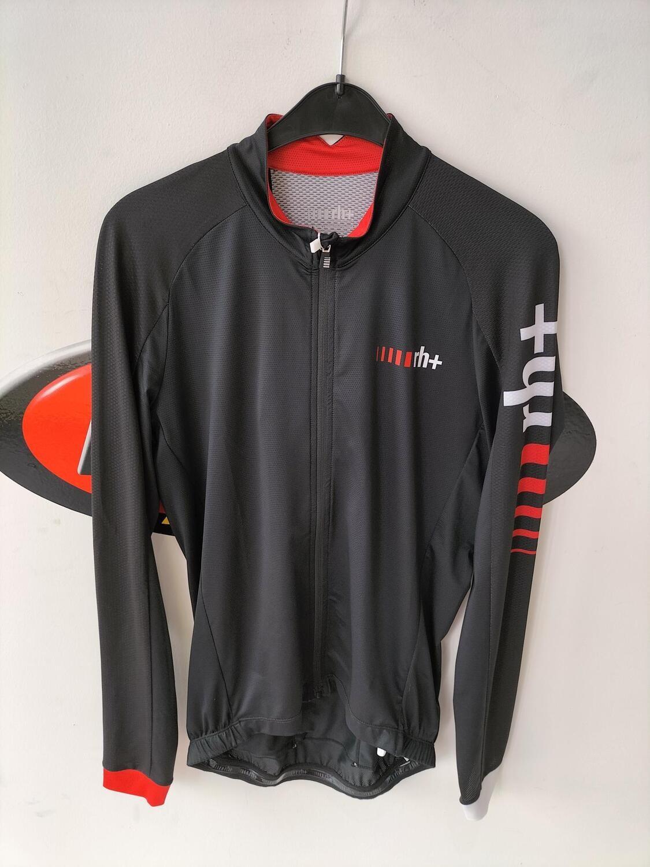 Zero RH Long Sleeve Jersey Black White Red Code