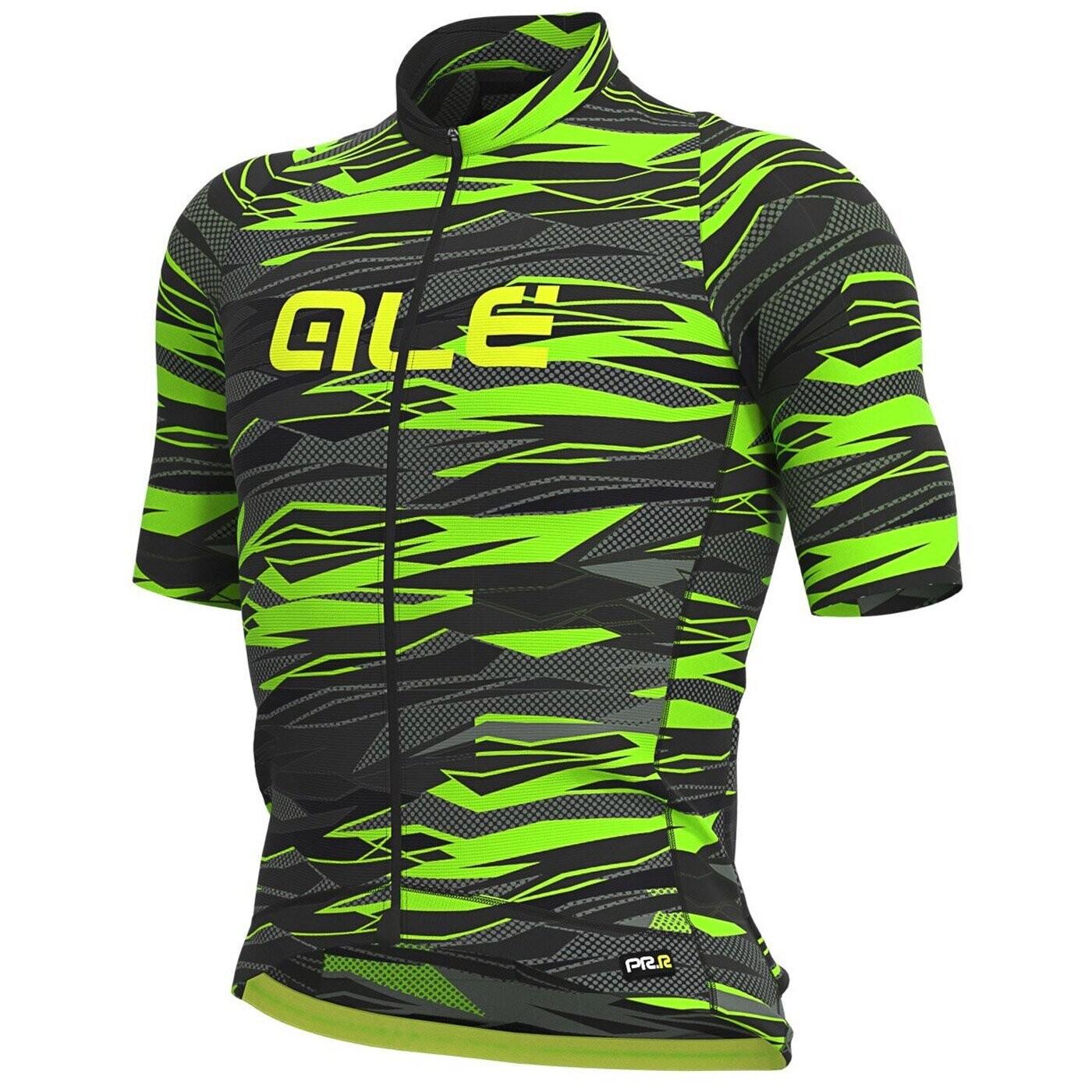 Ale Jersey Rock Green/Black/Fluo Green