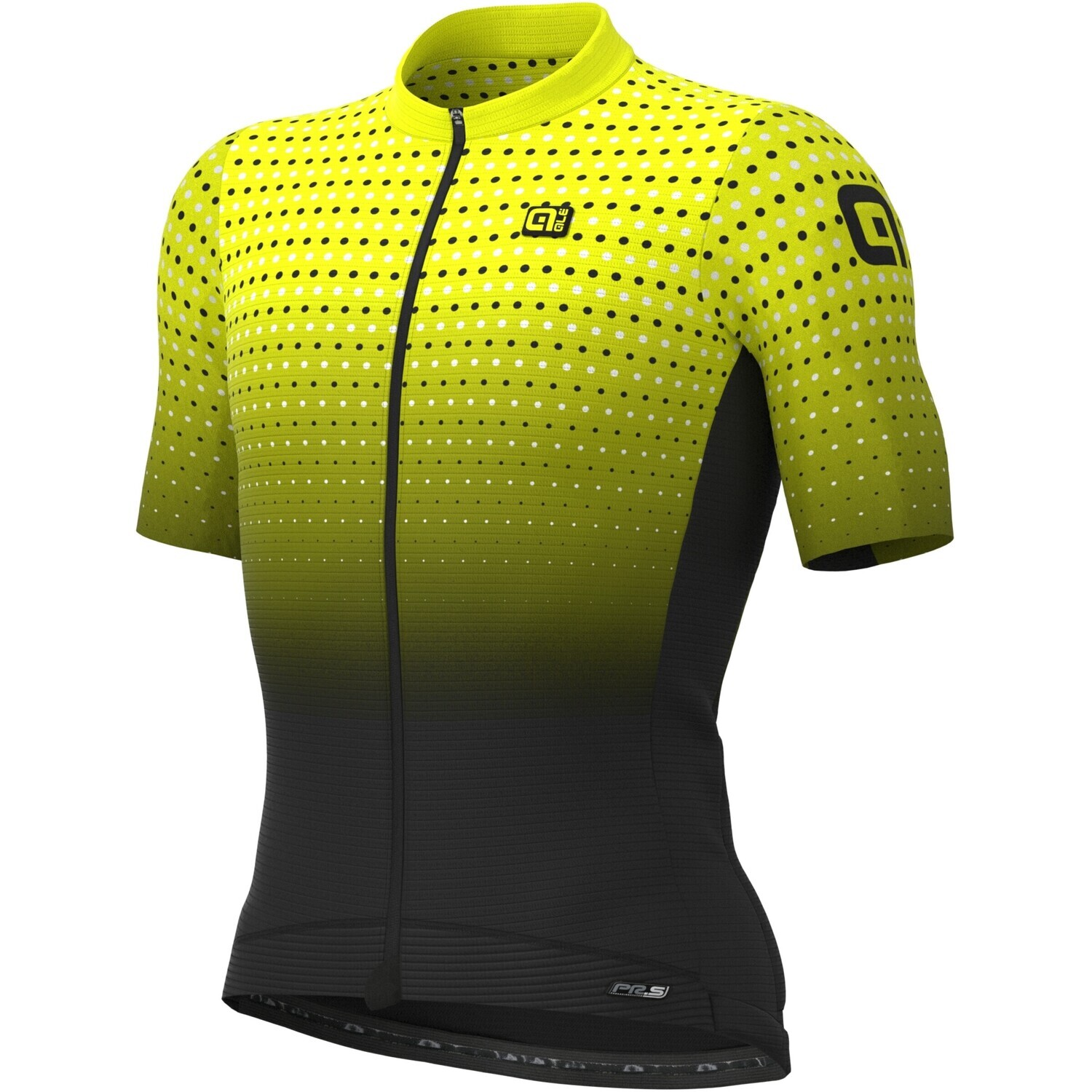Ale Bullet Jersey Yellow Fluo / Back