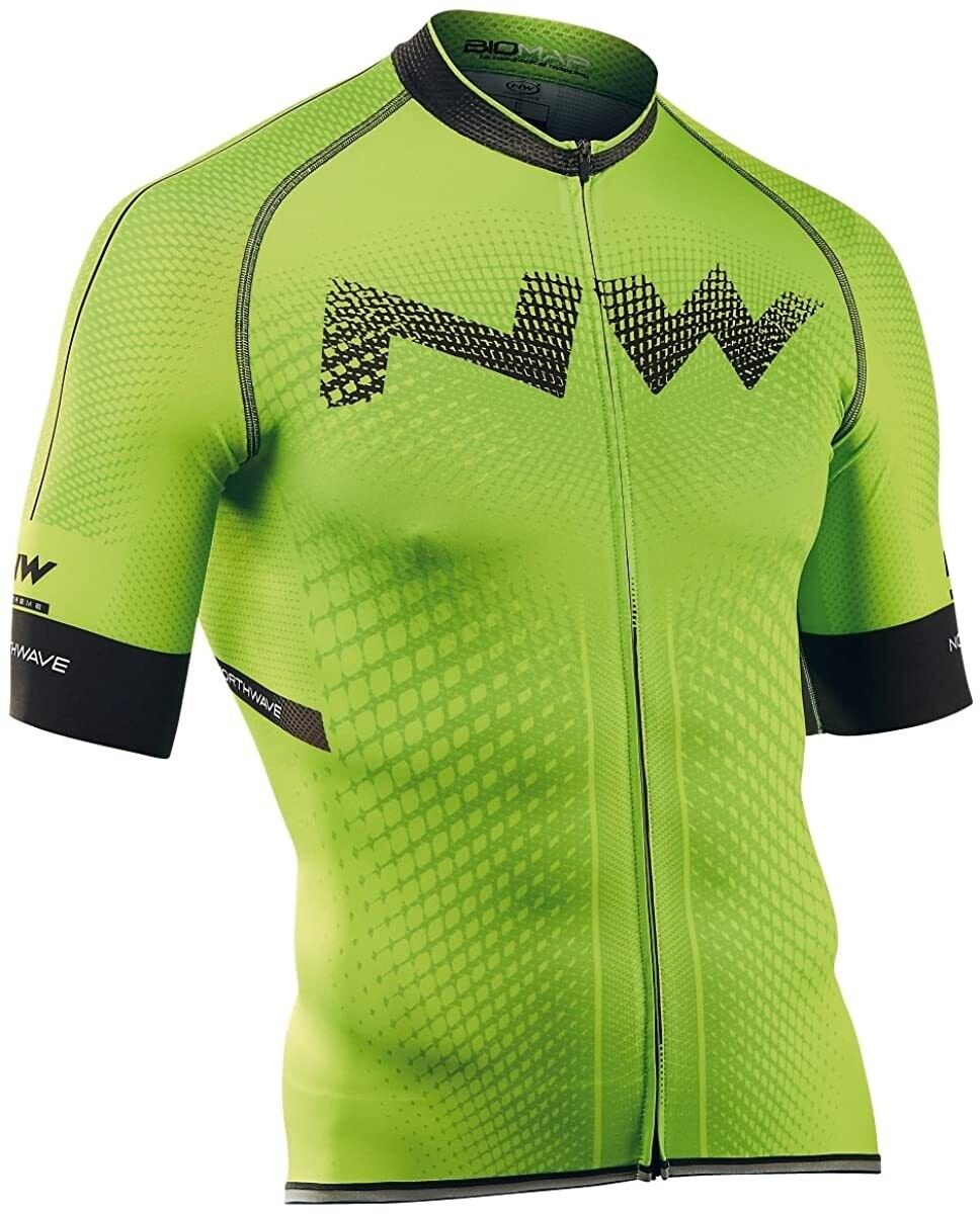 NorthWave Extreme Jersey Green Fluo