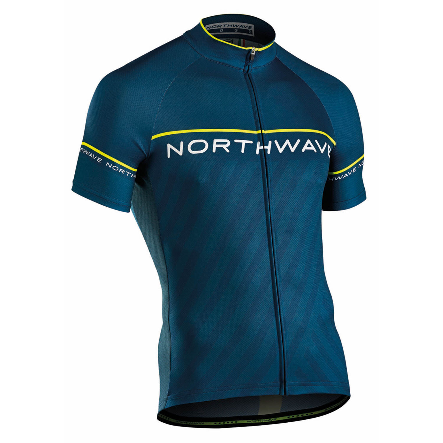 NorthWave - Jersey Logo 3 Blue Yellow Fluo