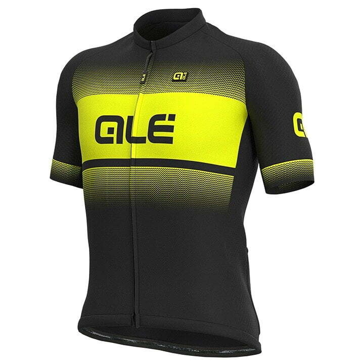 Ale Jersey Blend Black/Yellow Fluo