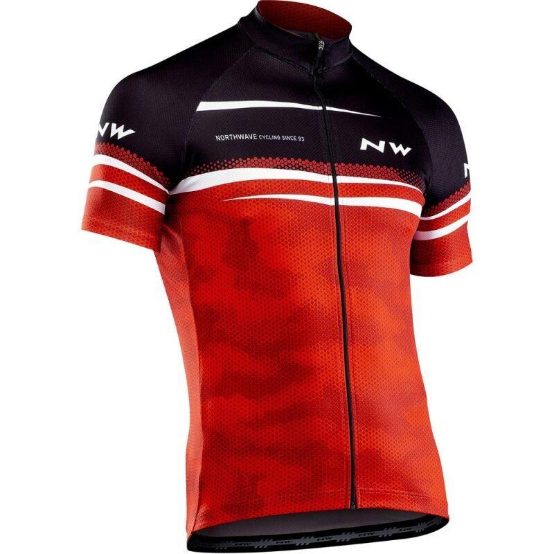 NorthWave - origin Jersey Red Black