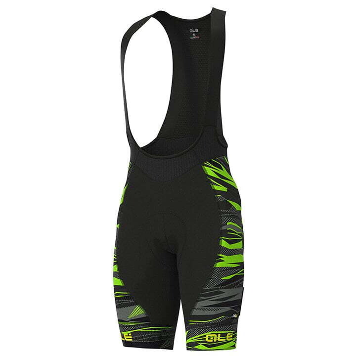 Cuissard Ale Rock Graphics PRR Black/Fluo Green