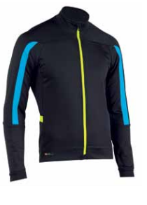 Northwave Sonic Jacket YELLOW BLUE BLACK