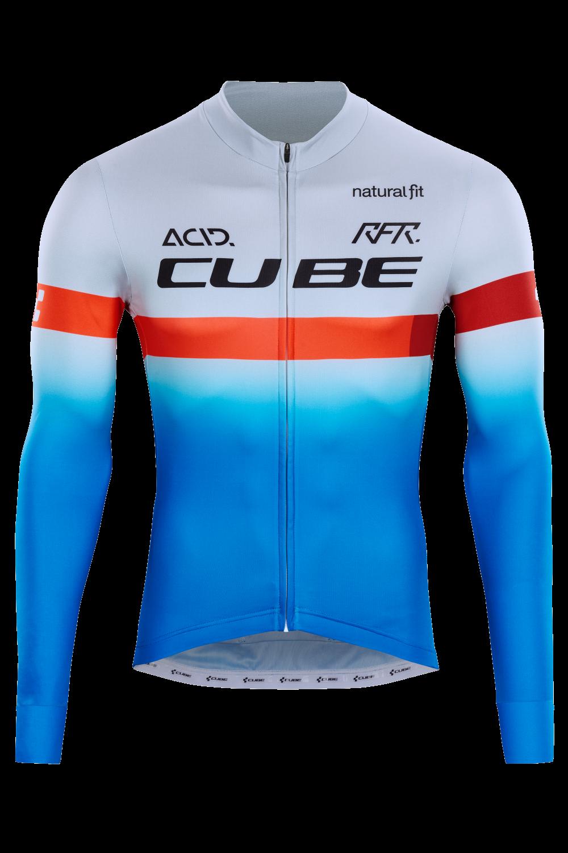 Cube Teamline Jersey Long Sleeves