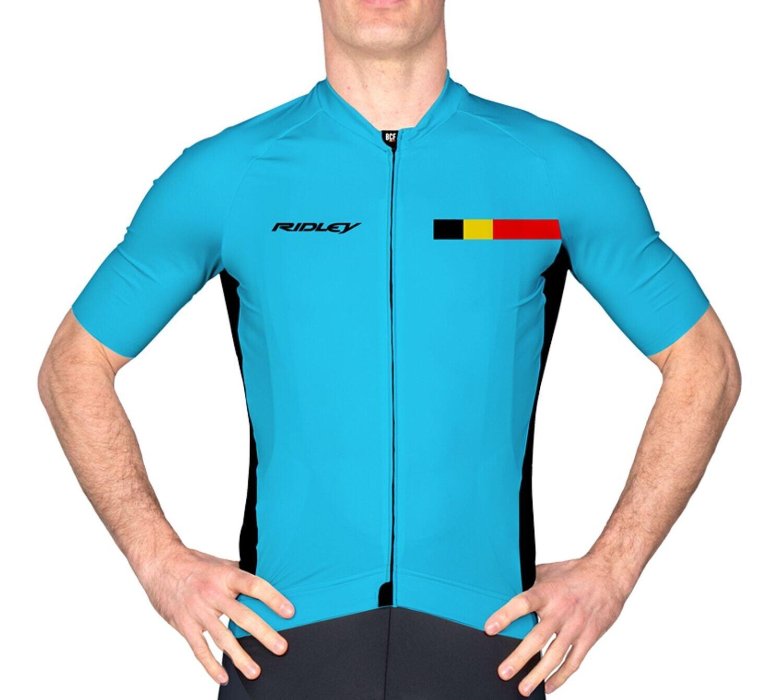 Maillot Ridley Performance Belgium Blue