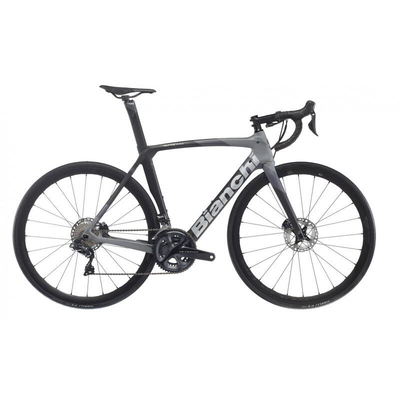 Bianchi Oltre XR3 2022 Ultegra Di2 12v Black grey