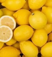 Citron jaune par lot de 4 à 2€