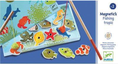 DJECO Магнитная игра Тропическая рыбалка