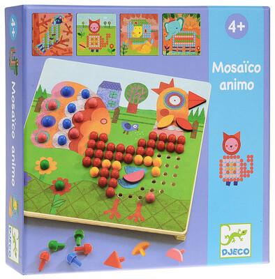 DJECO Игра Мозаика Животные