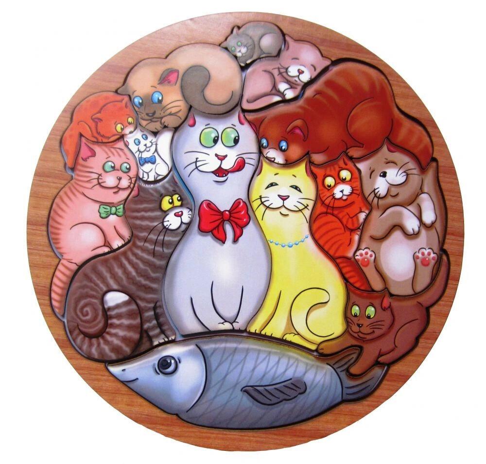 Головоломка «Коты»