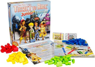 Ticket to Ride Junior: Европа (детская)