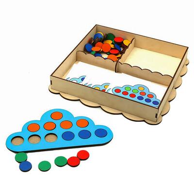 Развивающая игрушка «Умное облачко»